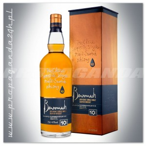 BENROMACH 10 YO 100 PROOF WHISKY SINGLE MALT 0,7L+OPAKOWANIE