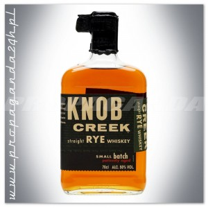 KNOB CREEK STRAIGHT RYE SMALL BATCH WHISKEY 0,7L