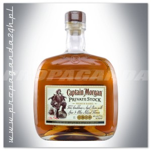 CAPTAIN MORGAN PRIVATE STOCK RUM 1,0L