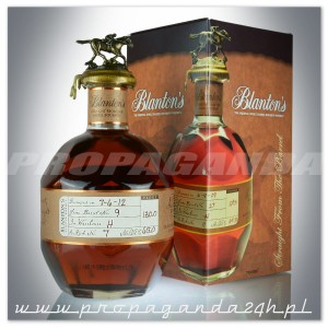 BLANTONS STRAIGHT FROM THE BARREL BOURBON 0,7L + KARTON