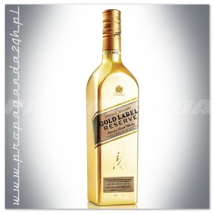 JOHNNIE WALKER GOLD LABEL RESERVE WHISKY 0,7L ZŁOTA BUTELKA
