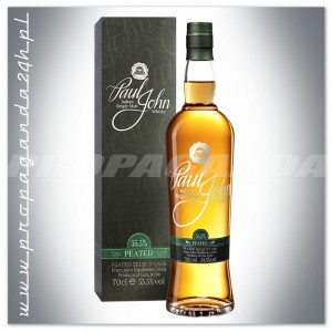 PAUL JOHN PEATED SELECT CASK WHISKY SINGLE MALT 0,7L + TUBA
