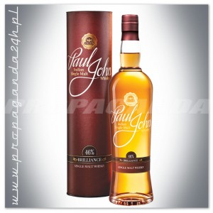 PAUL JOHN BRILLIANCE WHISKY SINGLE MALT 0,7L + TUBA