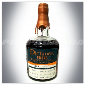 "DICTADOR RUM ""BEST OF 1982"" PORT CASK 0,7L - LIMITED RELEASE"