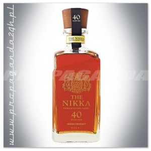 NIKKA 40YO ANS THE NIKKA BLENDED WHISKY 0,7L