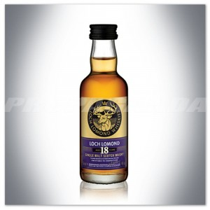 LOCH LOMOND 18YO SINGLE MALT SCOTCH WHISKY 0,05L (MINI)