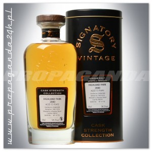 HIGHLAND PARK 2000 15YO SIGNATORY SINGLE MALT 0,7L + TUBA