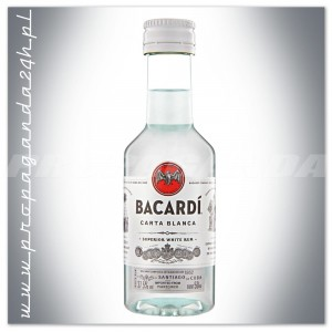 BACARDI CARTA BLANCA SUPERIOR WHITE RUM 0,05L (MINI)
