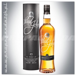 PAUL JOHN BOLD WHISKY SINGLE MALT 0,7L + TUBA