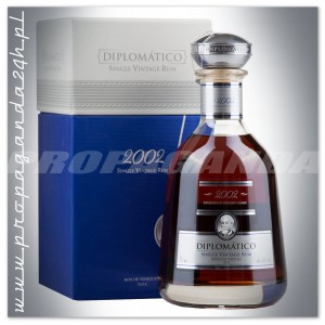 DIPLOMATICO [BOTUCAL] SINGLE VINTAGE 2002 RUM 0,7L + KARTON