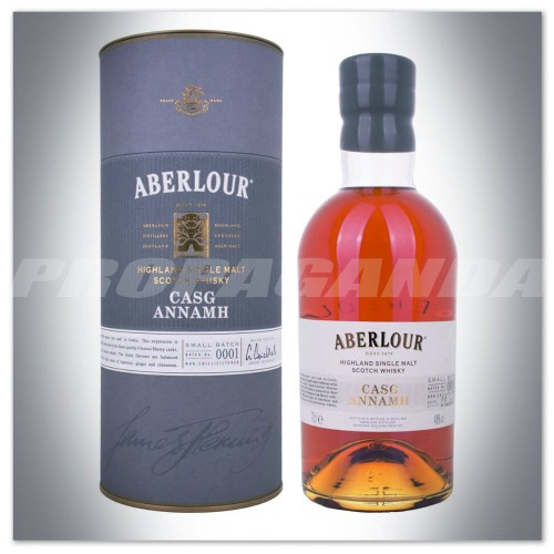 ABERLOUR CASG ANNAMH SMALL BATCH 0001 WHISKY SINGLE MALT 0,7L + TUBA